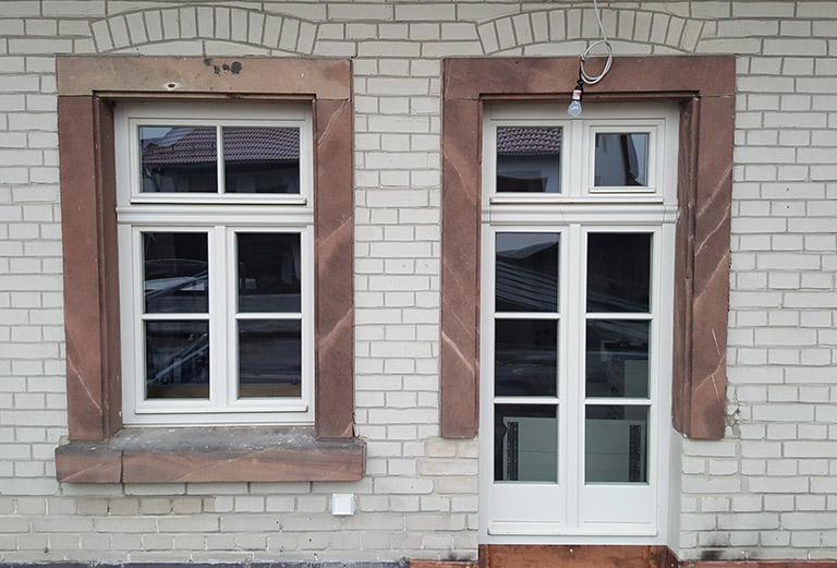 Fenster nach historischem Vorbild