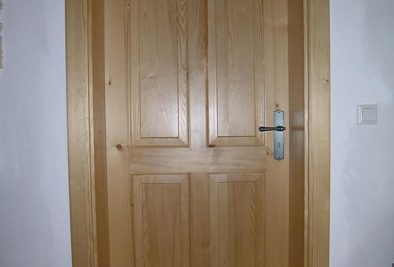 Zimmertür aus Lärche